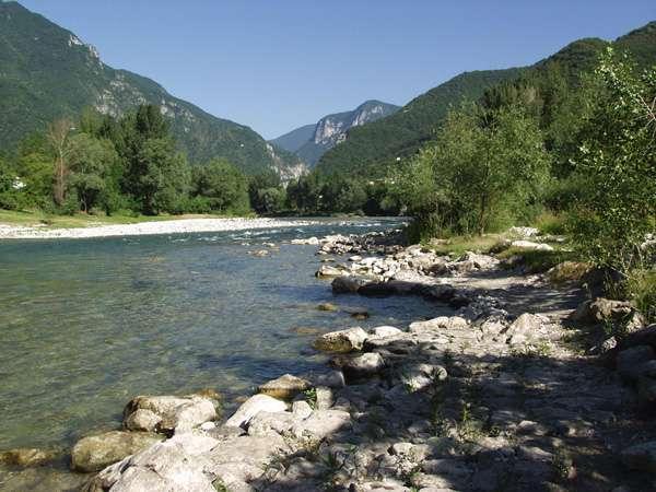 Il fiume brenta , trentino - veneto