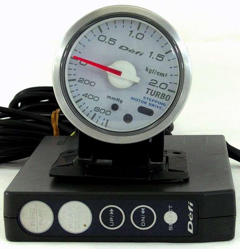 Defi 52mm boost gauge + control unit